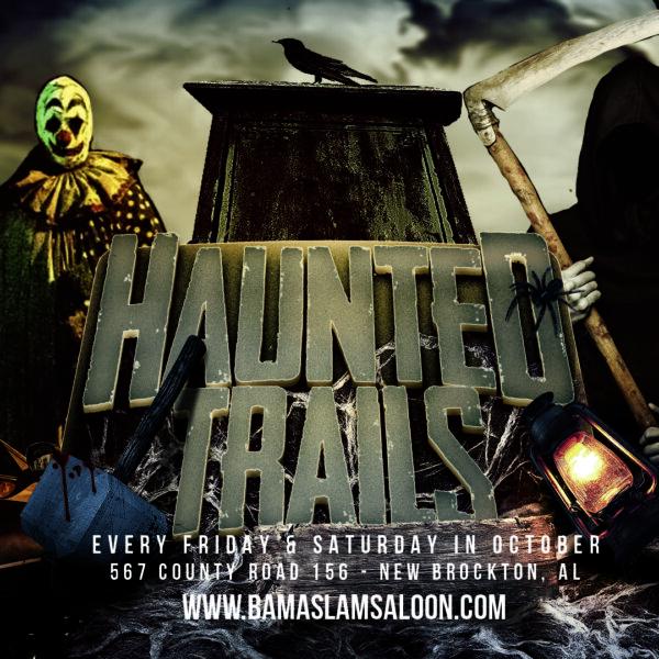 The Haunted Trails at Bama Slam Present: Bama Blood Bash