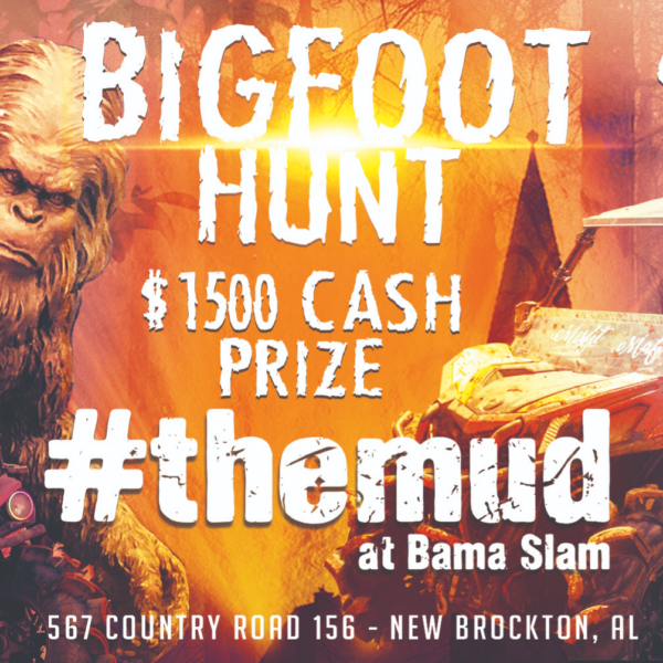 Bama Slam Bigfoot Hunt $1,500 Cash Prize