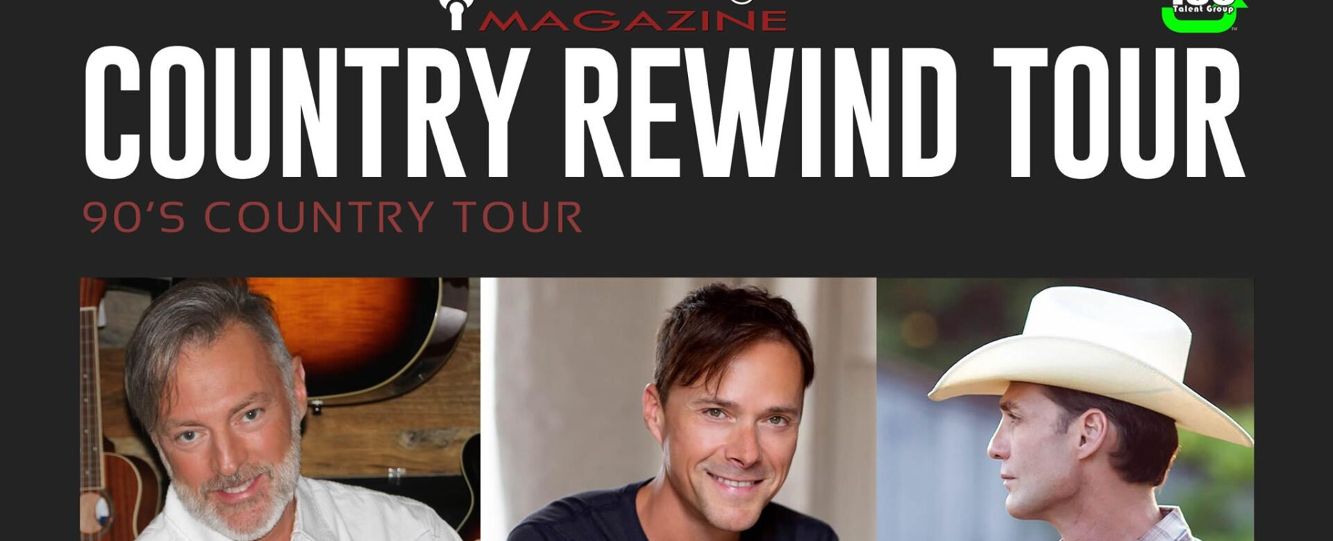 Country Rewind Tour, March 13th: Darryl Worley, Bryan White, Wade Hayes