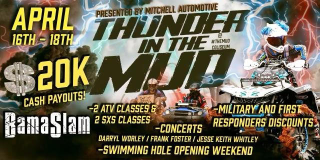 $20k Thunder in the Mud | Frank Foster | Darryl Worley